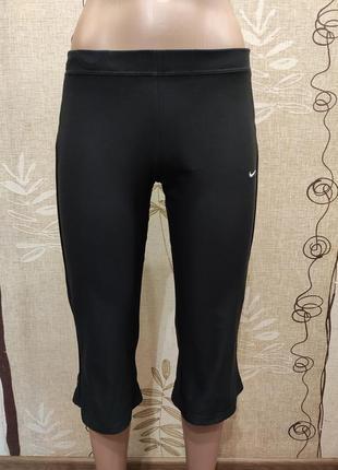 Nike черные спортивные бриджи