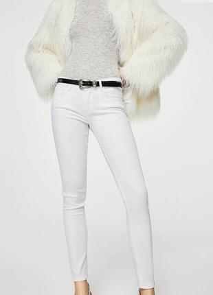 Нові білі джинси mango skinny push-up jeans kim
