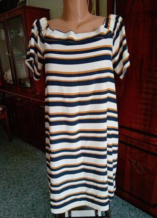 Короткое платье сарафан пог=50
