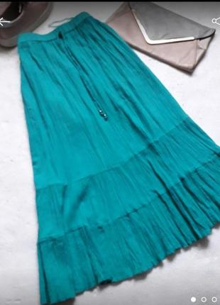 Летняя юбка 100%котон