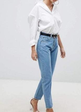 💕 новые стильные светлые джинсы мом скинни esprit💕