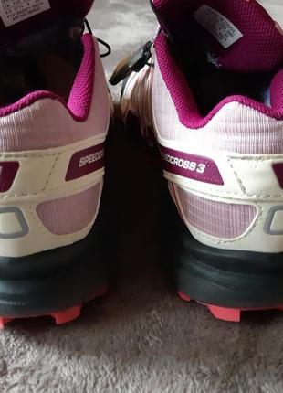 Женские туристические кроссовки salomon speedcross 3 gore-tex4 фото