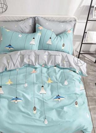 Полуторное постельное белье для ребенка тм вилюта ранфорс, высокое качество, рис.19005