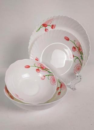 Набор тарелок, стеклокерамика