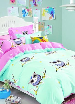 Полуторное постельное белье для ребенка тм вилюта ранфорс, высокое качество, рис.19019