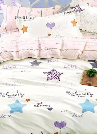 Полуторное постельное белье для ребенка тм вилюта ранфорс, высокое качество, рис.19018