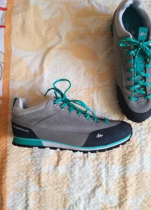 Кожаные кроссовки quechua