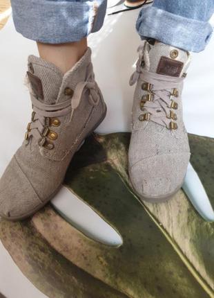 Ботинки - еспадрильи