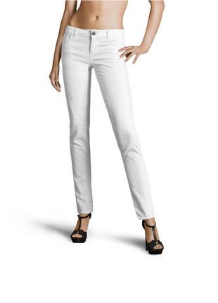 Новые белые джинсы twin-set slim fit твин сет брюки штаны