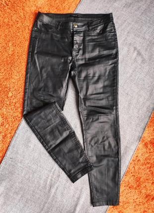Штаны чернее под екокожу