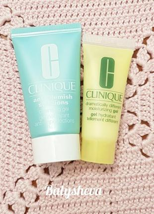 🌼clinique anti-blemish + dramatically different набор