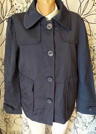 Весенняя куртка курточка 70%коттон
