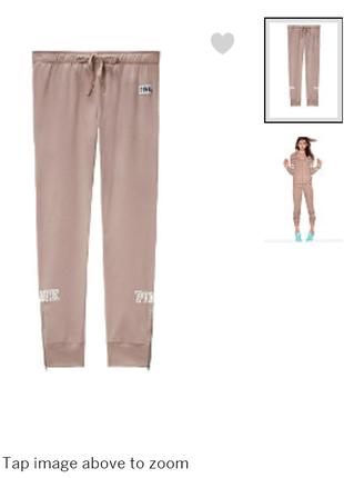 Спортивные штаны victoria's secret, pink, xs