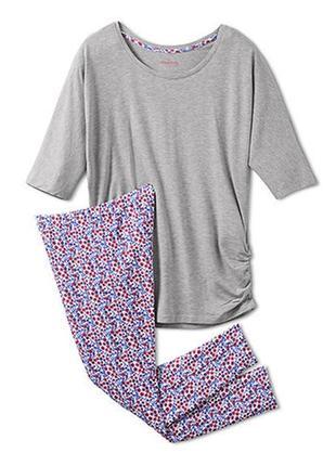 Костюм /пижама для дома и для сна из хлопка и вискозы  tchibo eur 36-38
