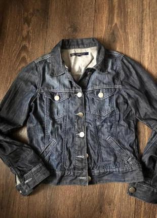Стильная джинсовая куртка /пиджак / жакет