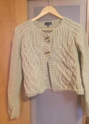 Очень теплый свитер - кардиган next