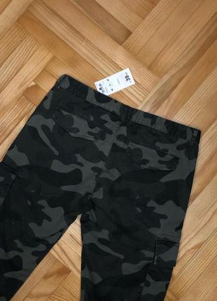 Skinny штани в стилі мілітарі terranova
