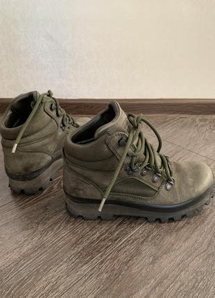 Ботинки горные хаки gore-tex