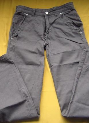 Фирменные лёгкие коттоновые штаны