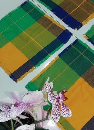 Текстильные плейсматы, подложки в кантри стиле 4 шт.