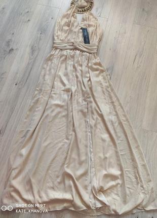 Розкішна сукня максі.