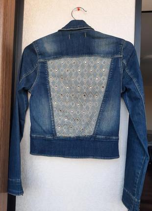 Джинсовка,джинсовая куртка, пиджак, жакет, куртка3 фото