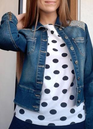 Джинсовка,джинсовая куртка, пиджак, жакет, куртка1 фото