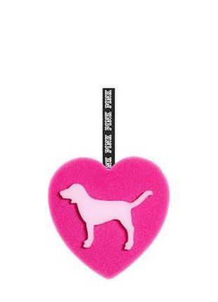 Мочалка для душа victoria's secret pink