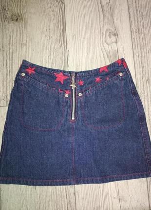 Класна джинсова спідничка на дівчинку 50 грн