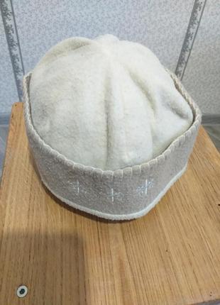 Флисовая шапочка.(2025)