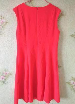 Новое коралловое платье tu
