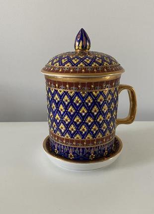 Чашка с ручной росписью
