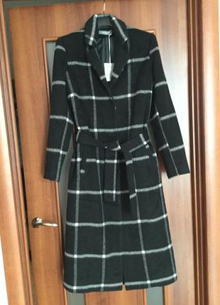Нове демісезонне кашемірове пальто