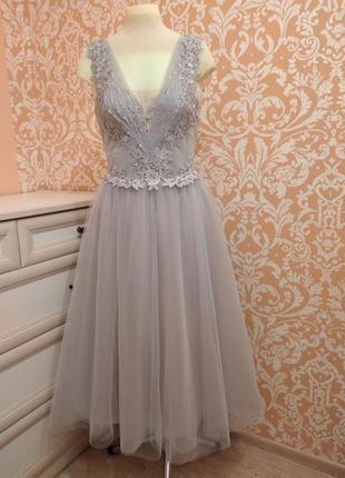 Новое выпускное вечернее свадебное платье