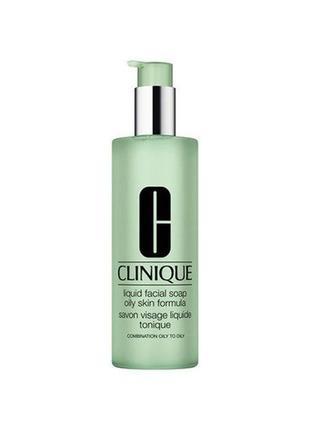 Жидкое мыло clinique liquid facial soap oily skin formula, 200 мл