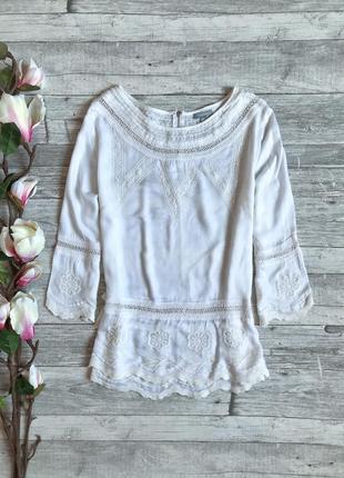 Блуза из натуральной ткани maddison