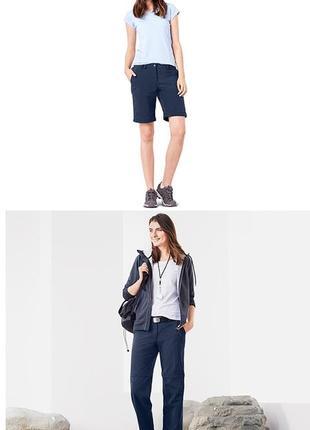 Функциональные брюки-шорты dryactive plus 2 в 1  от тсм tchibo (чибо), германия, размер м