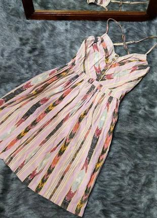 #розвантажусь платье на бретелях из 100% коттона/хлопка