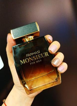 Мужской парфюм monsieur от farmasi