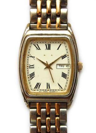Seiko винтажные часы без лицевой эмблемы дата день недели wr