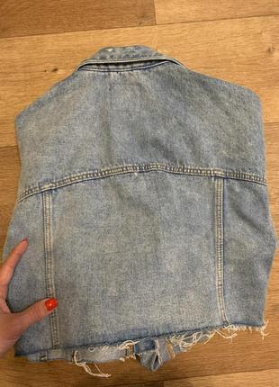 Джинсовая куртка5 фото
