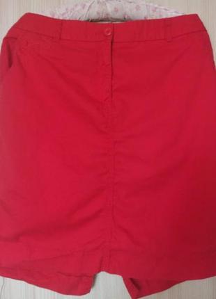 Летняя юбка большой размер