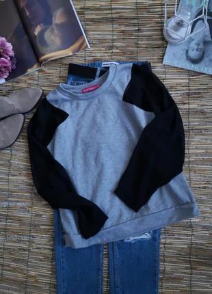 Серый свитшот 🎁рубашка oversize