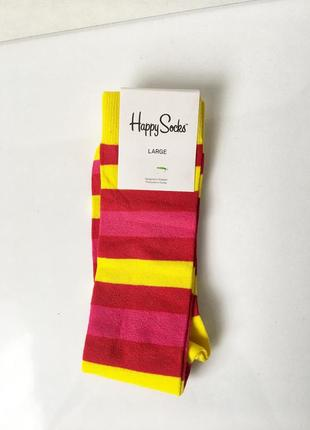 Носки гольфи happy socks large