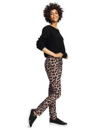 Элегантные леопардовые брюки esmara.стильная коллекция