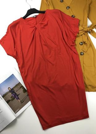 Платье-туника с драпировкой