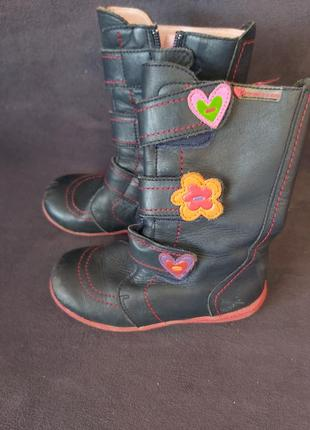 Кожаные детские сапоги сапожки для девочки 27 #розвантажуюсь