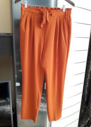 Брюки,штаны с высокой посадкой primark.