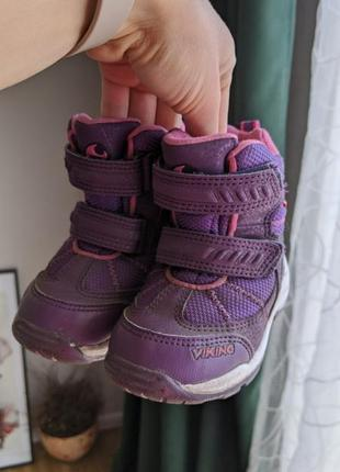 Viking сапожки ботинки термоботинки