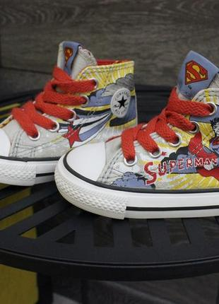 Кеды converse all star superman оригинал 20 размер конверс